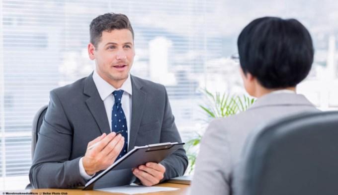 wawancara dalam sebuah pekerjaan