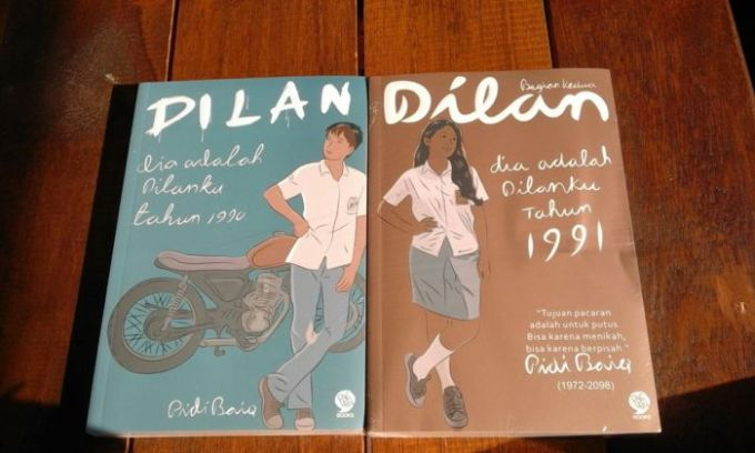 unsur intrinsik novel dilan singkat