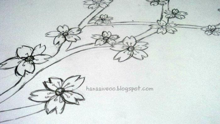 Gambar Sketsa | Kumpulan Gambar Sketsa Bunga, Pemandangan ...