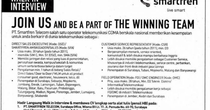 contoh advertisement text