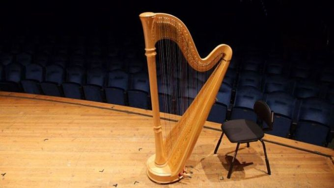 macam macam alat musik petik harpa