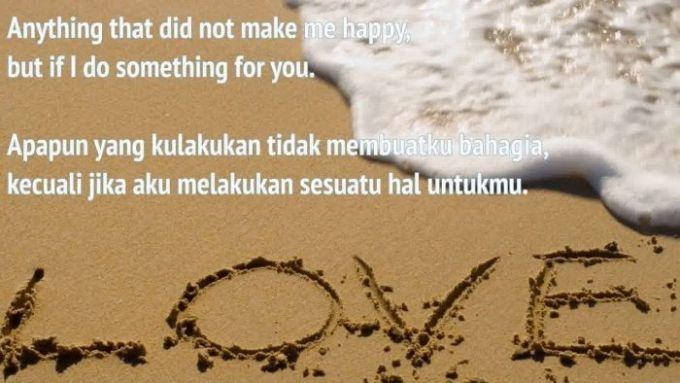 Kata Kata Mutiara cinta bahasa inggris dan artinya
