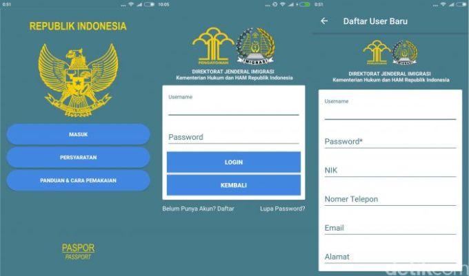 Cara Daftar Antrian dan Membuat Paspor Baru lewat Aplikasi online
