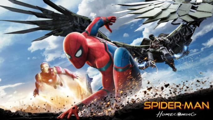 spiderman homecoming keyart