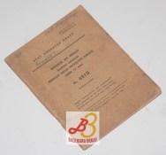 Sendjata Api Ringan Rentjana Peraturan Senapan Mesin Mitraliur Ringan (Bren 7,7 mm) No. 6510