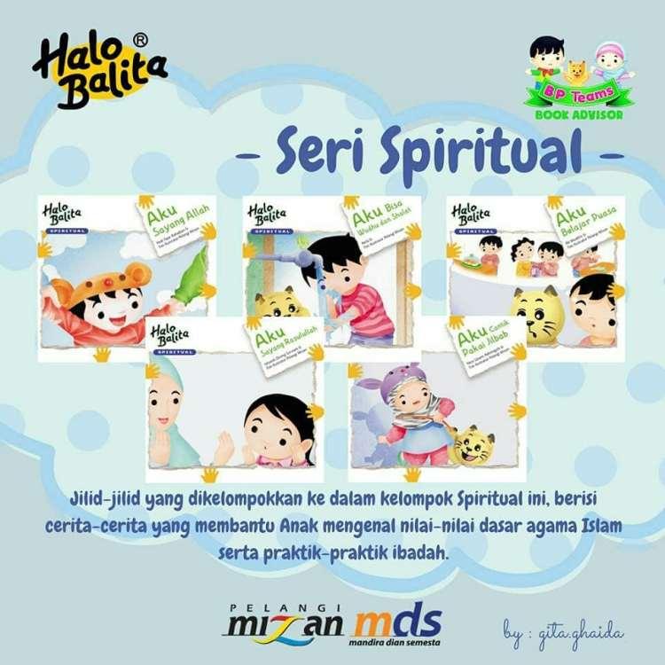 buku halo balita seri spiritual