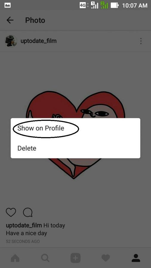 Cara mengembalikan postingan instagram yang sudah di archive