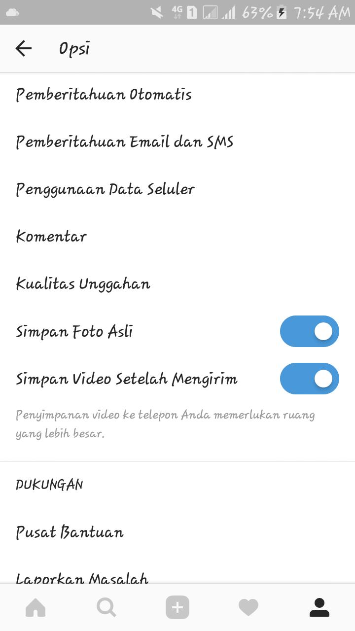 Cara Menyimpan Hasil Edit Foto Menggunakan Filter Instagram Tanpa Upload
