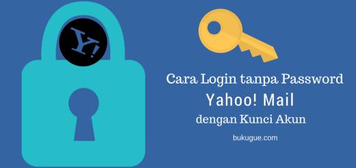 Kunci Akun Yahoo login tanpa password