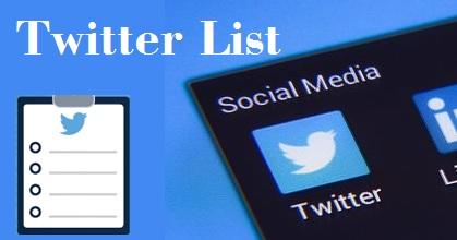 Cara Membuat dan Menggunakan Twitter List di Android
