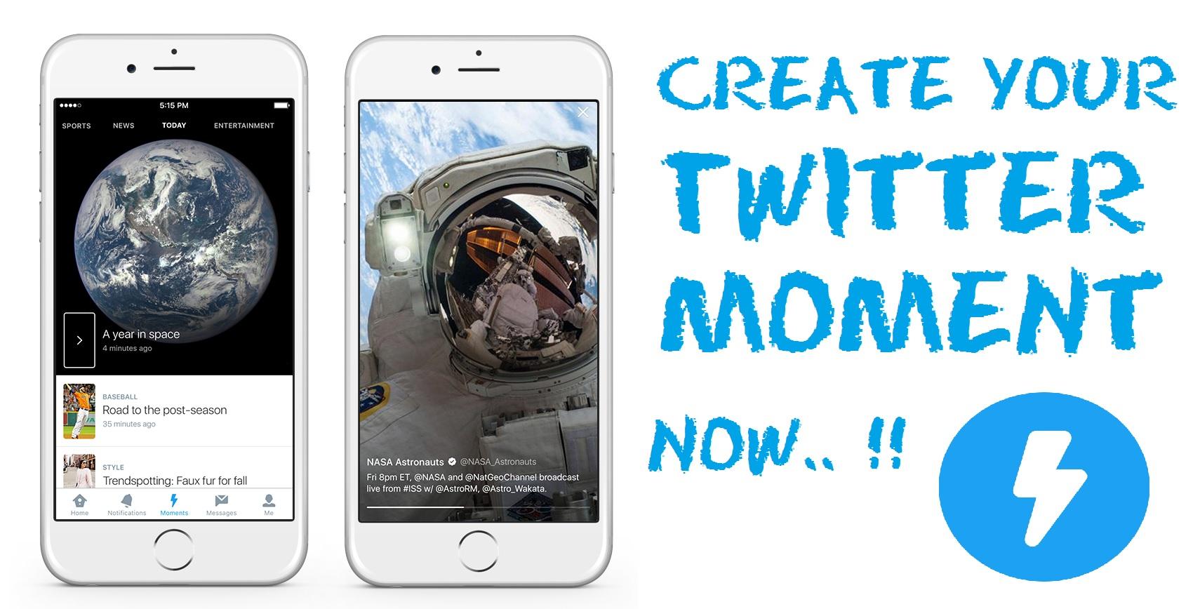 Cara Membuat Twitter Moment di Android