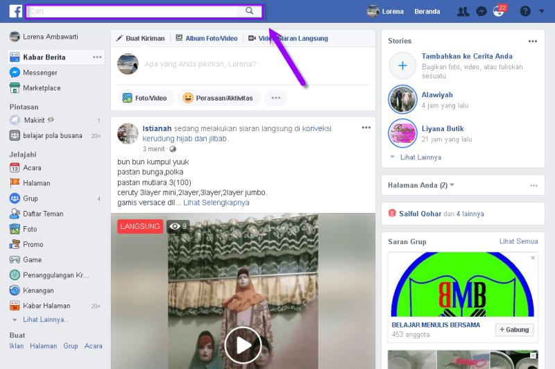 membatalkan pertemanan facebook