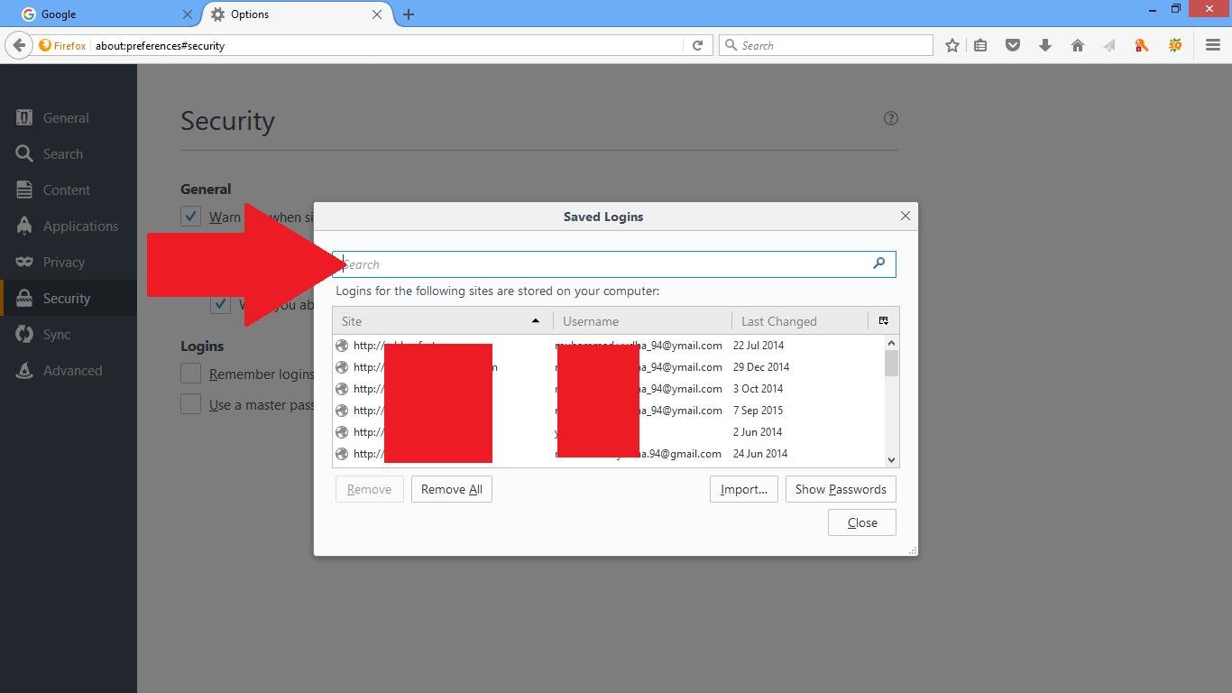 Cara cek password yang tersimpan di browser kamu