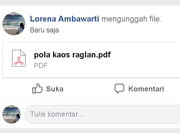 Cara mudah mengirim File ke Grup Facebook