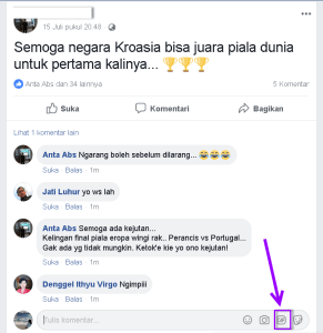 komentar gambar gif facebook
