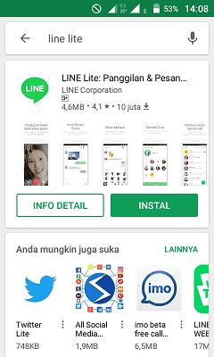 Download line ite di google play