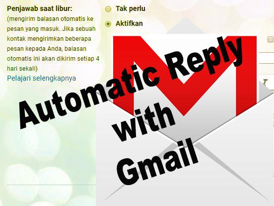 Contoh kalimat balasan email otomatis di berbagai keadaan