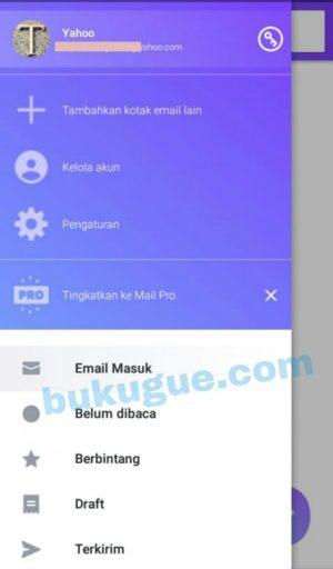 Laman Profil Yahoo Mail