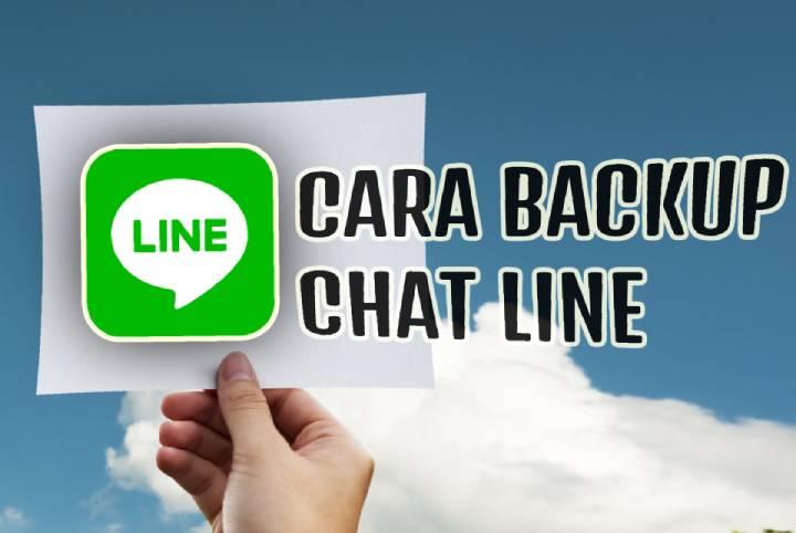 Cara backup dan restore chat di line semuanya sekaligus