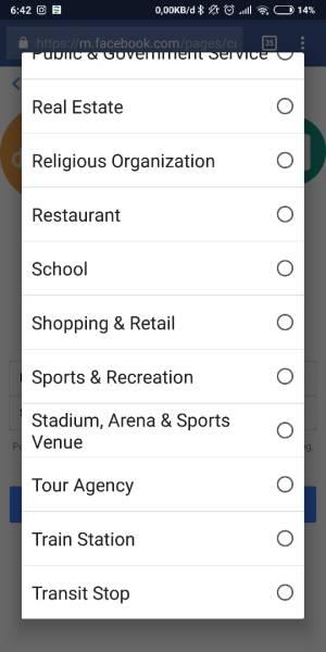 Pilih Sub Kategori yang paling sesuai