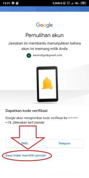 Alternatif jika tidak memiliki ponsel