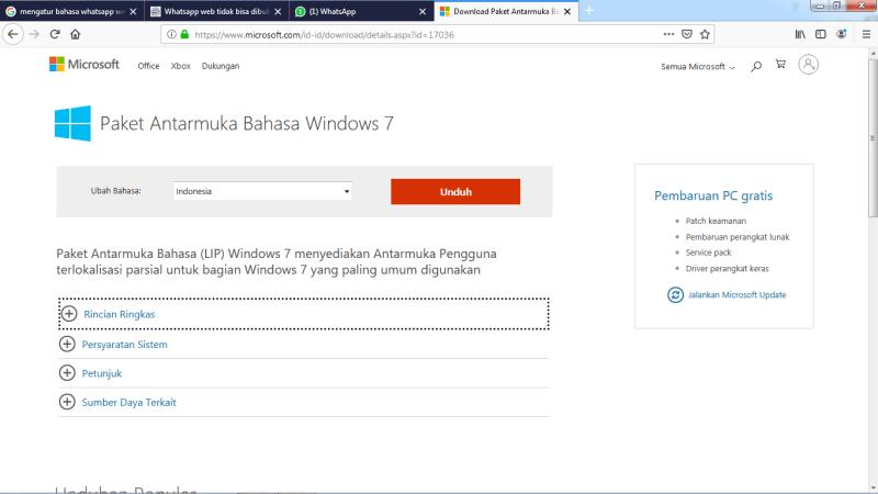 Download Antarmuka Windows
