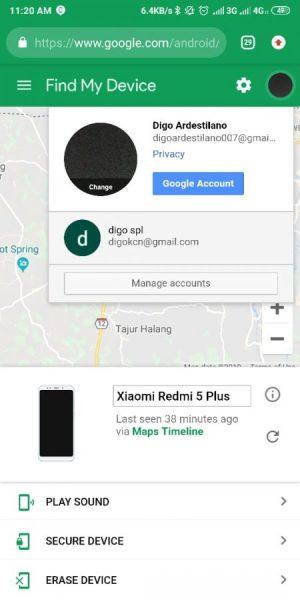 Tambahkan Akun Google