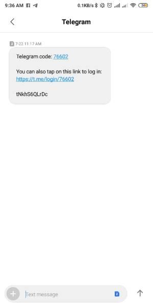 Masukkan Kode Yang Dikirim Lewat SMS