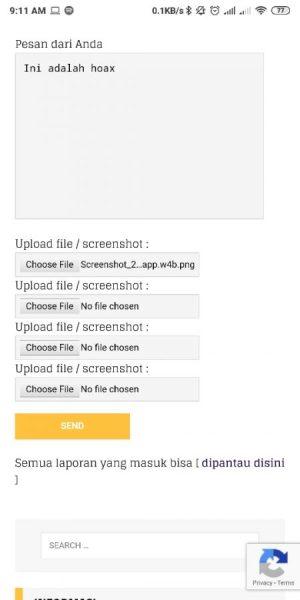 Upload Screenshot