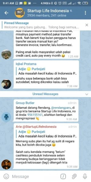 Group Startup Indonesia