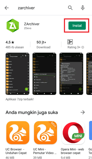download aplikasi ZArchiver