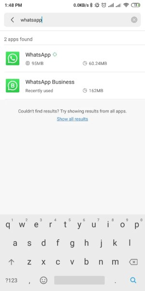 pilih aplikasi whatsapp