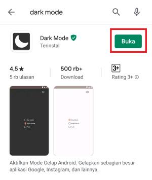 buka aplikasinya