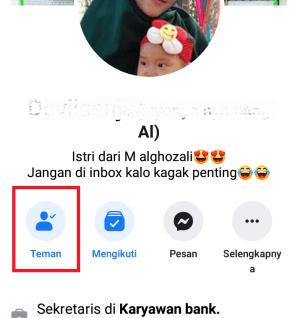 klik icon teman