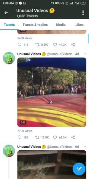 Unusualvideo