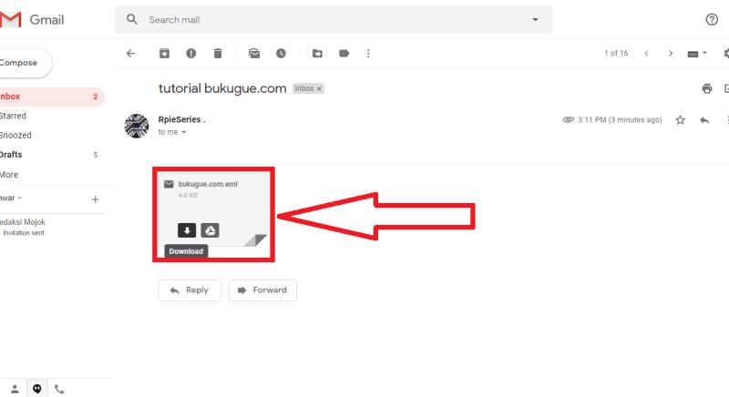 email di lampiran tadi bisa di download