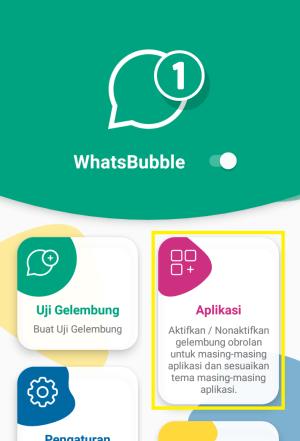 klik aplikasi