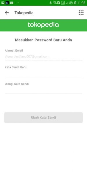 Atur ulang password