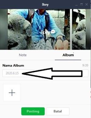 Buat nama album