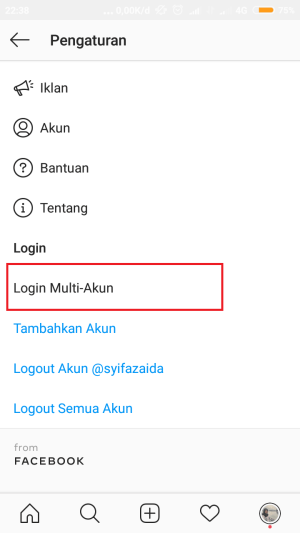 "tap ""login multi akun"""
