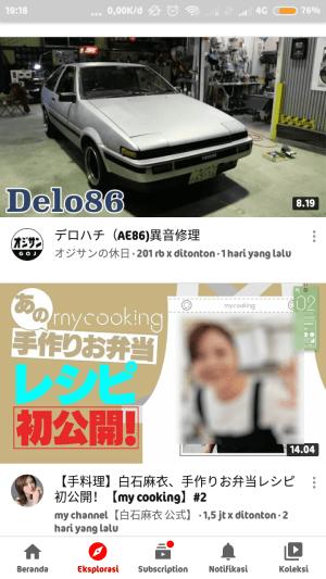 trending di negara Jepang