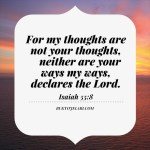Selah Notes: God's Thoughts Towards You