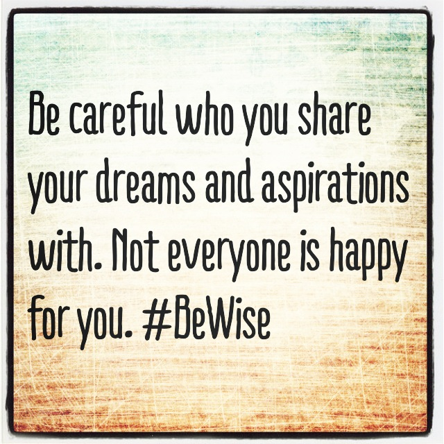 #BeWise