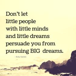 Llittle people little mind little dreams