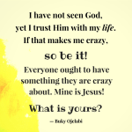 Crazy Love – Team Jesus