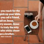 QOTD: Call On Jesus.