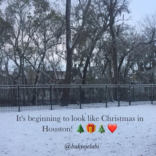 snow day in Houston
