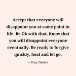 How Long Will You Mourn Your Disappointments?