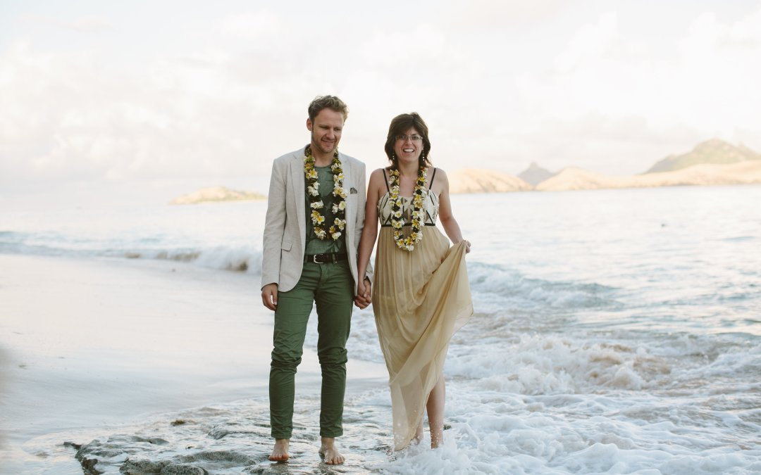 Just the two of you, saying I do! — Fiji Elopements