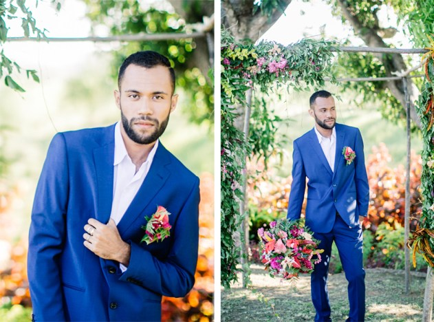 Bula Bride Fiji Wedding Blog / Colourful Fiji Wedding Inspiration Shoot. Captured by Leezett Photography. Creative Direction Bula Bride.